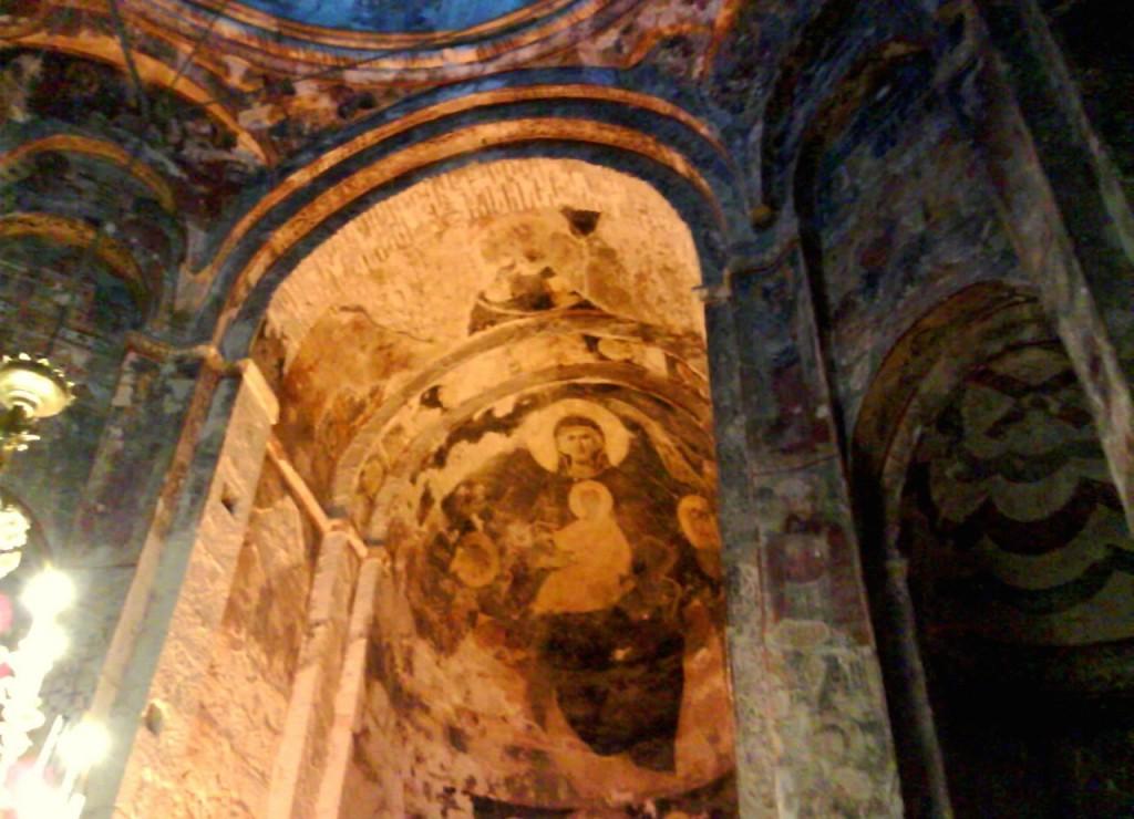 Фреска, VII век