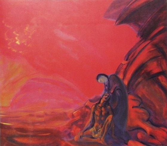 Светослав Рерих — Лейла и Меджнун, 1937
